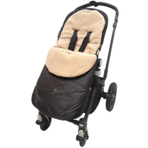 Deluxe Footmuff//Cosy Toes Compatible with Bugaboo Bee Pushchair Black