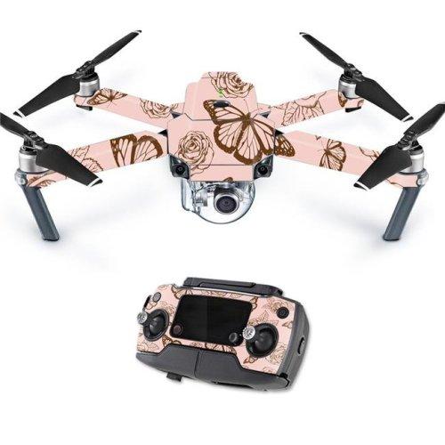 MightySkins DJMAVPRO-Butterfly Garden Skin Decal Wrap for DJI Mavic Pro Quadcopter Drone Cover - Butterfly Garden