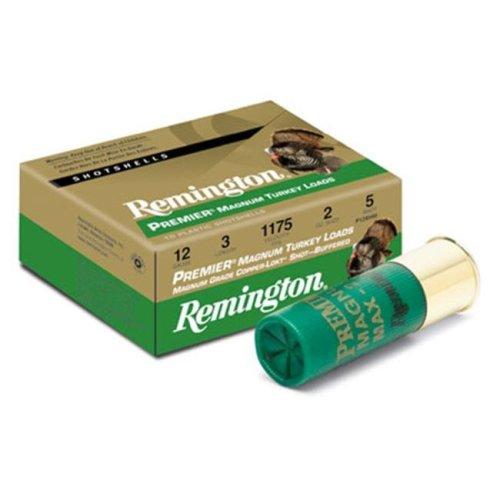 Remington 26847 Premium Magazine Turkey 12Ga 3.5 In. Max Dr 2.25Oz Shotshell Copper Plated & Hv 10 100