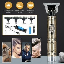 Electric Hair Clippers Cordless Mens Trimmer