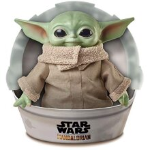 Star Wars The Child Plush Toy - 11-inch Baby Yoda Soft Figure from The Mandalorian