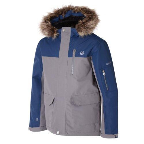 (15 - 16 years, Aluminium Grey/Admiral Blue) Dare2b Furtive Boys Ski Jacket