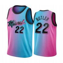 Miami Heat Jimmy Butler Men's Basketball Jersey Sport Shirts Sleeveless T-Shirt