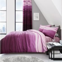 Wave Ombre Luxury Striped Duvet Cover Set
