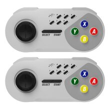 2-Pack Wireless Turbo Controllers for SNES Classic Mini