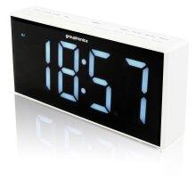 "Grouptronics GTCR-T1M 9"" Digital Alarm Clock Radio - 9"" Large Display"