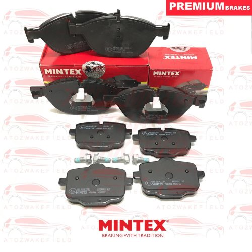 FOR BMW 5 SERIES 525d 530d 535d F10 F11 FRONT REAR MINTEX BRAKE PADS