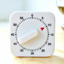Kitchen Cooking Baking Timer Wind Up Mechanical Clock Alarm Stopwatch