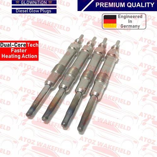 FOR ALFA ROMEO FIAT OPEL SAAB VAUXHALL 4 x DIESEL GLOW PLUGS 55200817