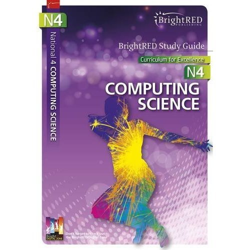 National 4 Computing Science (Bright Red Study Guide)