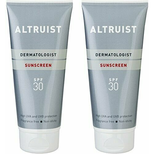 Altruist Dermatologist SPF 30 high UVA Sun Screen 2 X 200 ml bottles sun cream