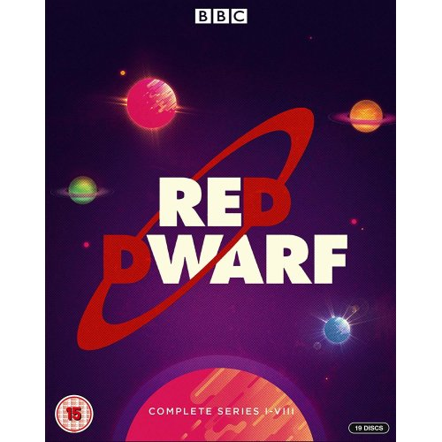Red Dwarf Series 1 to 8 Blu-Ray [2019]