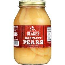 Blakes 280566 32 fl oz Pear Halves, Pack of 12