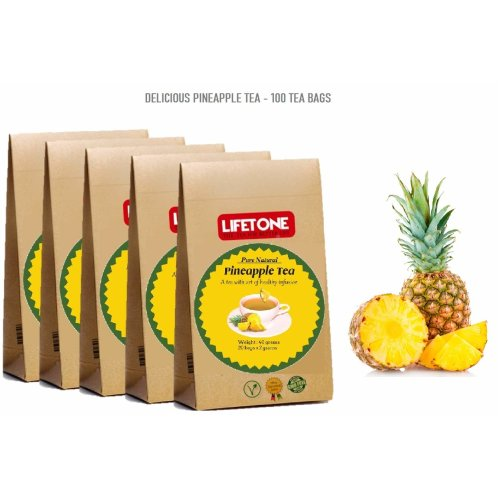 Pineapple Tea   Delicious Cleanse Tea   Mild Laxative Tea   Detox Tea
