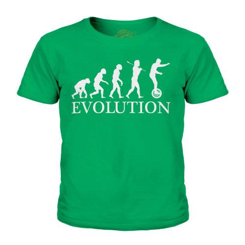 Candymix - Uni Cycle Evolution Of Man - Unisex Kid's T-Shirt