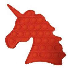 Unicorn Push Pop Fidget Kids Toy It Bubble Special Needs Silent Sensory Autism Classroom
