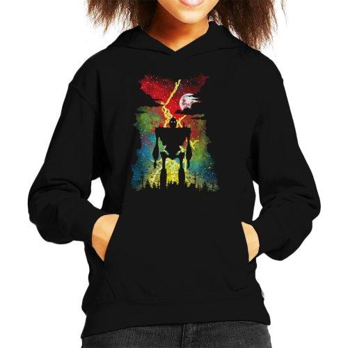 Mechanical Friend The Iron Giant Kid's Hooded Sweatshirt