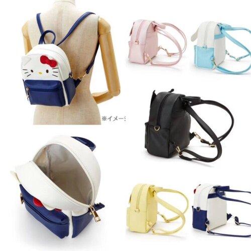 Kuromi My Melody PU Leather Backpack Crossbody Bag