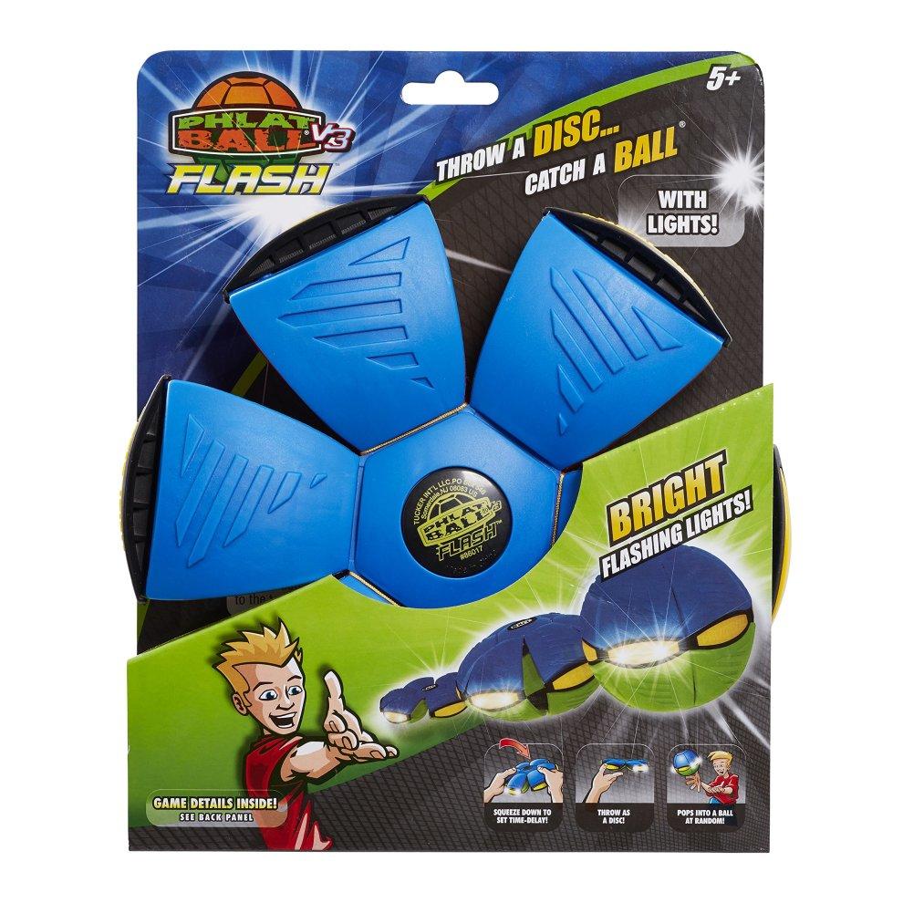 Lights up! Catch a ball Phlat Ball V3 Flash Throw a disc