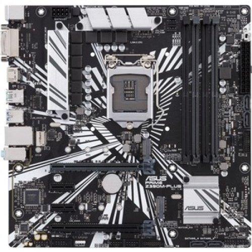 Asus Prime Z390M-Plus Desktop Motherboard Intel Chipset Socket H4 Lga-1151 90MB0Z60-M0EAY0