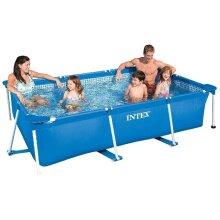Intex Family Pool Rectangular Frame 300 x 200cm Swimming Pools