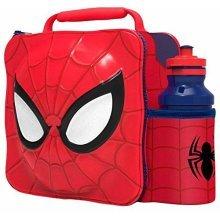 Marvel Spiderman 3D Lunch Bag With Drinks Bottle