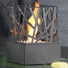 Bio ethanol Nest fireplace Indoor Outdoor Portable Camping Table Top Fire Burner
