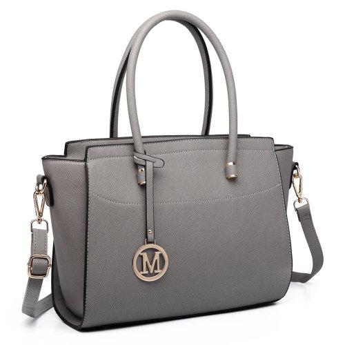 Miss Lulu Women's Faux Leather Handbag
