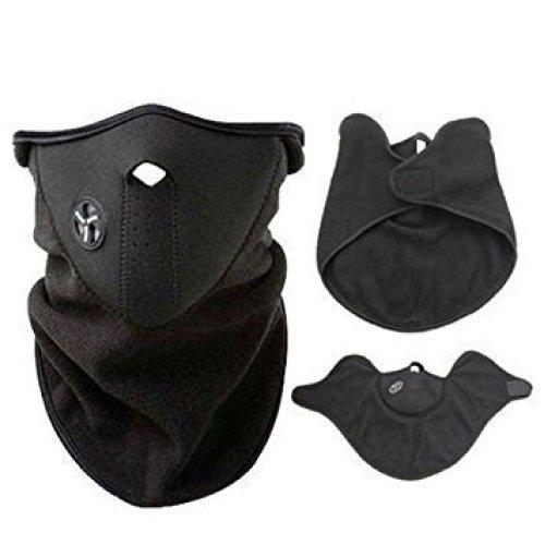 Trixes Neoprene Neck Warmer   Fleece Half Face Mask