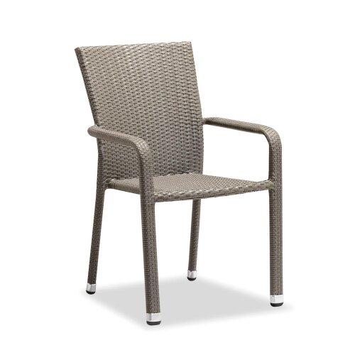 Outdoor Chairs With Armrest Rattan Wicker Garden Furniture