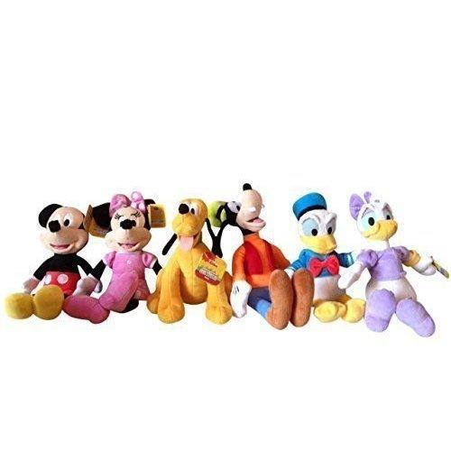 Disney Friends Set 9 Plush Mickey Minnie Donald Daisy Goofy Pluto On Onbuy