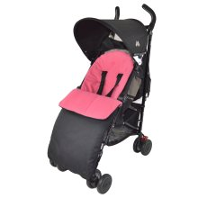 Footmuff / Cosy Toes Compatible with Obaby Dark Pink