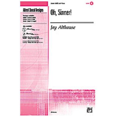 Alfred 00-23423 OH SINNER-SPX SET4D