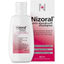 Nizoral Anti-Dandruff Shampoo, 60ml