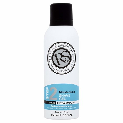 The Real Shaving Company Step 2 Moisturising Shave Gel 150 ml