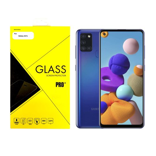 For Samsung Galaxy A21s Tempered Glass Screen Protector