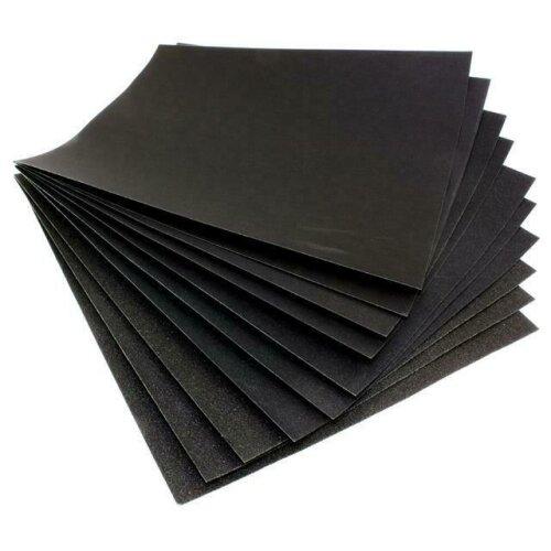 20 x Waterproof Sheets Of Wet & Dry Sandpaper Paper 2000 Grit Grade