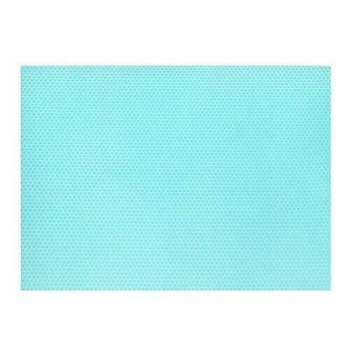(1 Piece Fridge Mat, Blue) Fridge Liners Refrigerator Pads Drawer Table Mats