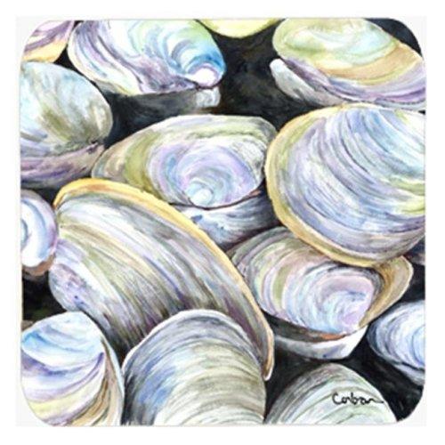 Clam Quahog Foam Coasters, Set Of 4