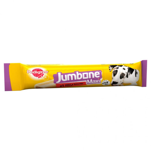 Pedigree Jumbone Small Dog Beef & Poultry 4pc (Pack of 8)