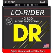 DR Handmade Strings LH-40-U Lo-Rider Bass Guitar String - 40-100 Gauge