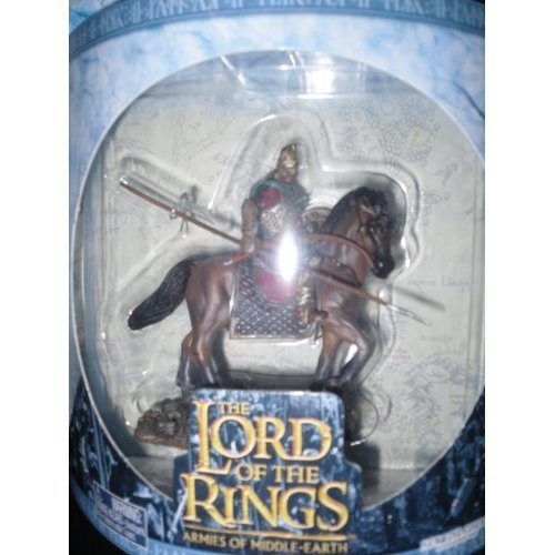 Rohan Horseman Figure 1//24 Scale Lord of the Rings Armies of Middle Earth