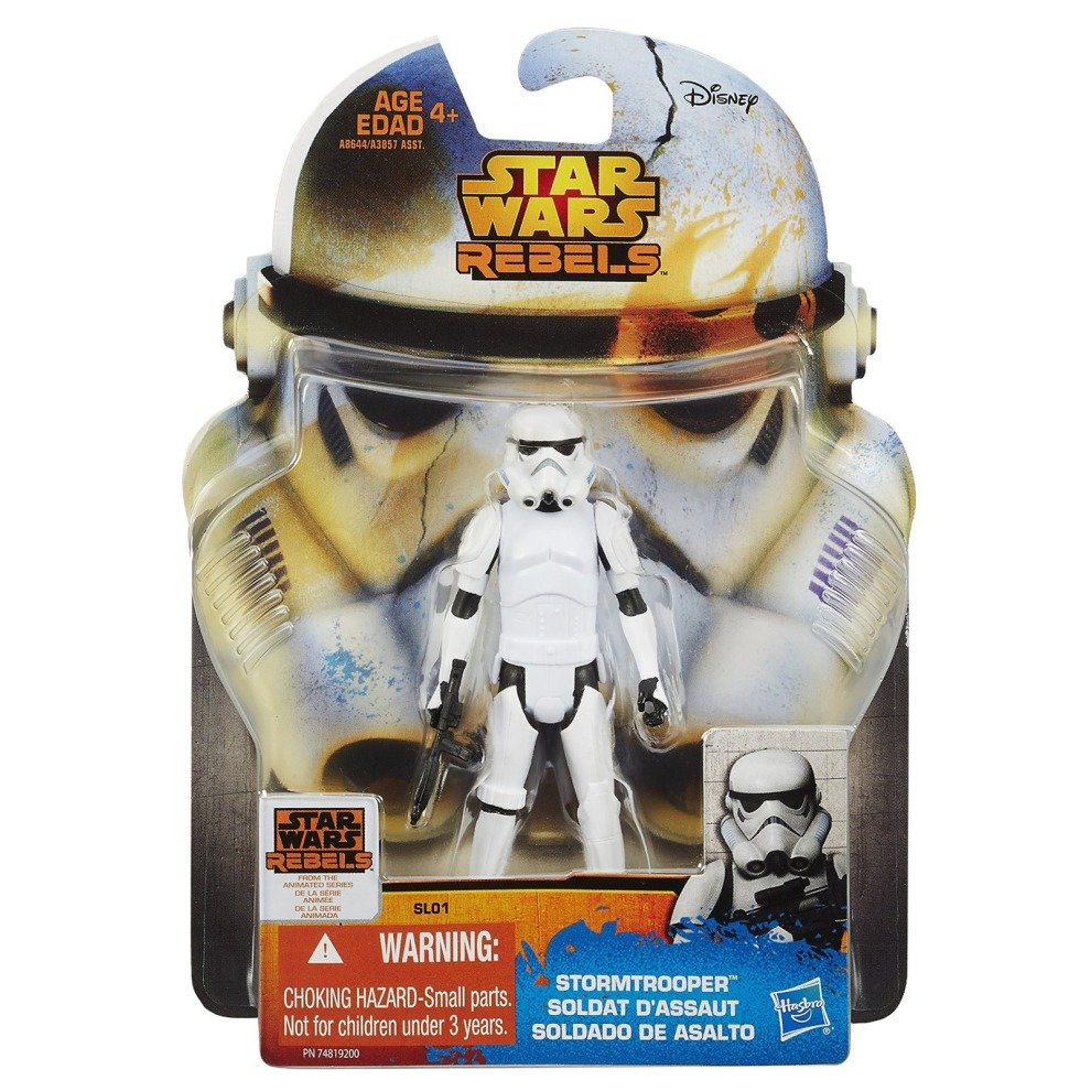 Star Wars New Hasbro Rebels Collection Stormtrooper Action Figure