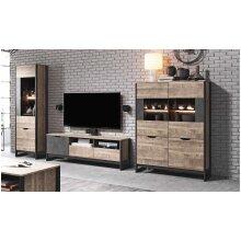 Industrial Living Room Furniture Set ARDEN