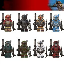8X Star Wars Clone Wars Compatible Lego Minifigures Mandalorian Collection