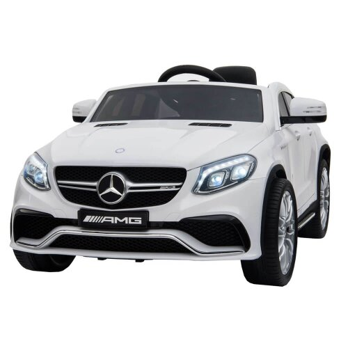 Licensed Mercedes Benz AMG White GLE63 Coupe Licensed 12V 7A Kids Electric Ride On Toy Car
