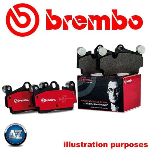 BREMBO GENUINE ORIGINAL BRAKE PADS FRONT AXLE P06051