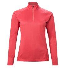 Berghaus Tech 2.0 Womens 1/4 Zip Long Sleeve Fitness T-Shirt Shirt Tee Pink