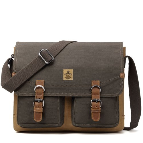 TRP0418   A great range of canvas bags and luggage. User-friendly, comfortable and durable Troop London