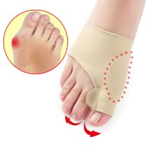 1 Pair Toe Separator Hallux Valgus Bunion Corrector Toe Straightener Orthotics Feet Bone Thumb Adjuster Correction Pedicure